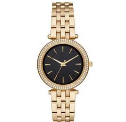 mulheres usando relógios Desconto Moda personalizado relógio do desgaste das mulheres MK3429 MK3430 MK3731 MK3725 + caixa Original + Atacado e Varejo + Frete Grátis