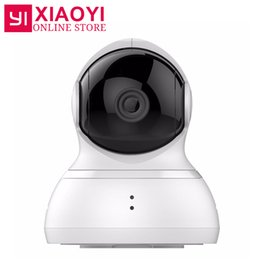 "Wholesale Wifi Dome Camera Ptz - [International Edition] Xiaomi YI Dome Home Camera 112"" 720P IP Camera Xiaoyi 360"" PTZ WiFi Webcam Infrared Night Vision"