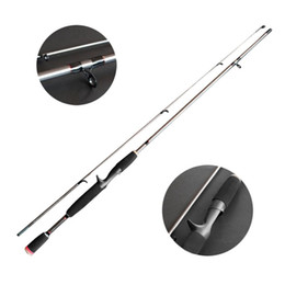 Wholesale Resin Lures - s Robust Fishing Sea Straight Handle Pikestaff Grips Pole Fishing Rod Strong Bearing Capacity Resin Fibre Lure Rod Travel Rod