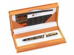 ручка золотая нить Скидка Pimio 901 Paris Exotica  Gold Iridium Fountain Pen with 0.5mm Nib Metal Ink Pens Writing Office Gift Free Shipping