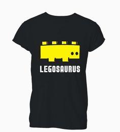 Майка онлайн-Женская футболка Мода Классический Legosaurus Funny Building Футболка с блоками динозавров Женская женская футболка с короткими рукавами 2018 года