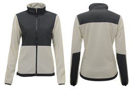 Wholesale down jackets for ladies - sale 2018 New Winter Women's Fleece Warm Jackets Pink Ribbon For Ladies Windproof Coats Outdoor Casual Soft Shell Down Ski Sports Jacke