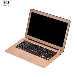 "Wholesale Gold Intel - Rose Gold 13.3"" Core i3 5005U Ultrabook Backlit Keyboard Metal Case 2.0GHz 3M Cache Intel HD Graphics 5500 Laptop pc Bluetooth"