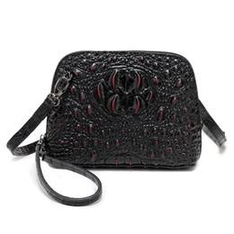 32233162daf91 2019 schöne frauen handtaschen Nuleez Frauen Kleine Tasche Krokodil  Handtasche Shell Echtes Leder Damen Messenger Crossbody