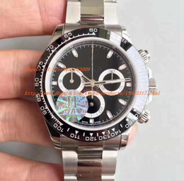 Wholesale Swiss Automatic Movement Chronograph - TOP JF Factory V2 version Watch Hot Sell 40mm Cosmograph 116506 116520 116509 116500 Swiss ETA 7750 Movement Chronograph Mens Watches