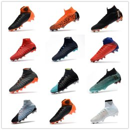 Wholesale ronaldo soccer cleats - Mens CR7 Melhor Elite Ronaldo KJ VI 360 FG Soccer Shoes Football Boot Mercurial Superfly Cristiano Ronaldo FG Men Socce Shoe Cleats