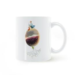 Wholesale Moon Stars Decor - The Little Prince Moon Stars Mug Coffee Milk Ceramic Cup Creative DIY Gifts Home Decor Mugs 11oz T924