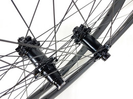 Wholesale Mtb Wheelset 29er - 29er MTB XC BOOST carbon wheels 34mm hookless 30mm deep clincher tubeless tyres 15X110 12X148 straight pull wheelset UD 3K 10s 11s XX1 12s