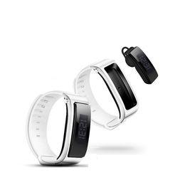 Wholesale Lcd Bracelet Watch - TalkBand FX3 Smart Sport Wristband Bluetooth Headset & Fashion Watch & Anti lost 0.91 LCD Screen FX-3 Smart Bracelet