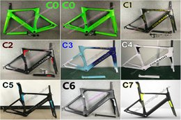 Wholesale colnago road bike frames - Factory sale Good quality Colnago carbon road bike Frameset T1000 UD 3K Concept carbon road frames with BB30 BB68 free shipping
