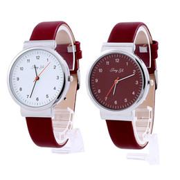Wholesale Roman Leather Bracelet - Classic Men women Watches Roman Number Quartz Leather Wrist Watch Top Brand Luxury Digital Relogio Masculino Business Bracelet