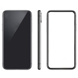 Wcdma 3g sim karte online-goophone x 5,5 Zoll 1g RAM 4g ROM zeigen 256GB 4g lte freigesetztes Telefon echtes 3G Smartphone versiegelt