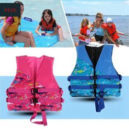 Wholesale Flotation Jackets - marine life jacket children kids life saving life jacket buoyancy aid flotation device boating surfing work vest clothing