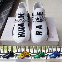 2018 новая человеческая раса Pharrell Williams x мужская женская скидка дешевые модные спортивные туфли eur 36-45 от Поставщики энергетическая обувь
