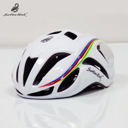 2019 radhelm rot weiß blau Ultraleichter Fahrradhelm Integral geformte Fahrradhelme Herren Rennrad Mountainbike-Helm cascos bicicleta Capacete Da Bicicleta