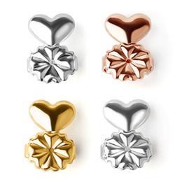 59b192b240bd silberne ohrringpfosten Rabatt Ohrringe Lifters Gold   Silber Farbe magic  bax Ohrhaken Unterstützung hypoallergen Für alle