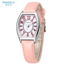 Distribuidores de descuento Relojes De Cuero Rectangular  0aa5216f3849