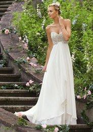Wholesale wedding gowns size 18 - Custom-Chiffon-Bridal-Gown-Wedding-Dress-Size-6-8-10-12-14-16-18-20 Custom-Chiffon-Bridal-Gown-Wedding-Dress-Size-6-8-10-12-14-16-18-20 C