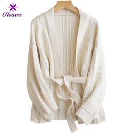 Autunno Inverno Nuovo Addensare Frenulum Cardigan in maglia Donna Plus Size Breve Retro Maglione Allentato Solido Spessa Linea Cappotto casuale LR224 da