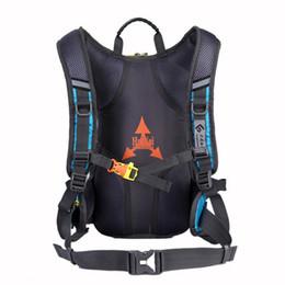 sacchetto impermeabile del casco Sconti Zaino impermeabile in nylon stile 3 colori 15L sportivo con borsa in rete per casco