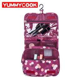 Wholesale bulk cosmetics - Hanging Toiletry Storage Bags Travel Wash Pouch Cosmetic Organizer Wholesale Bulk Lots Accessories Supplies Products
