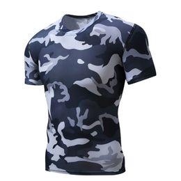 Wholesale Hot Transport - 2018 hot new fitness sports T-shirt men's tight outdoor transport T-shirt men's fitness sportswear summer shirt size S-XXXXL