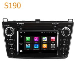 Wholesale Double Din Android Dvd Player - Road Top S190 Android 7.1 System Quad Core CPU Double Din Car Radio DVD Player GPS Navigation Head Unit Car Computer for Mazda 6 (2008-2013)