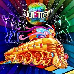 Vinyl Disco Dancing Soul Train Party Photo Sfondo stampato Fondali fotografici per studio fotografico da
