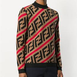 Wholesale Sweater - Mens Sweater Pullover Men Brand Deisgner Hoodie Long Sleeve Designer Sweatshirt Letter Embroidery Knitwear Winter Clothing