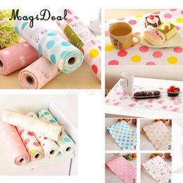 Wholesale Pat Mat - MagiDeal 300cm Anti Slip Kitchen Cupboard Waterproof Mat Roll Drawer Garderobe Table Sticker Pat Baby Shower Party Table Decor