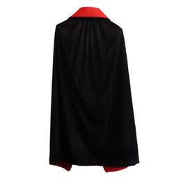 Männliches kap online-2018 Männer Trenchcoat Halloween Mantel Party Cape Kostüm Cosplay Männer Frauen Oberbekleidung Casual Lange Mäntel Männliche Kleidung