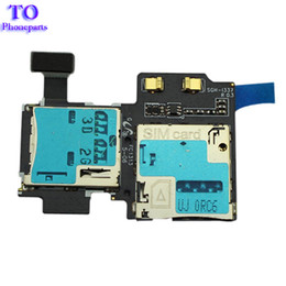 galaxy sim cards Promo Codes - For Samsung Galaxy S4 i337 i545 Sim card reader holder tray slot Flex Cable