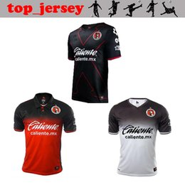 Wholesale Corona Black - NEW 2018 Mexico Club Tijuana jersey thai quality 17 18 LUCERO home away 3RD MALCORRA G.BOU CORONA KALINSKI L.CHAVEZ football shirt
