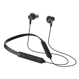 привет стерео Скидка Беспроводные Наушники Neckband Спортивные Наушники С Шумоподавлением Bluetooth V4.2 в-ухо Sweatproof наушники магнитные Привет-Fi стерео dhl EAR323