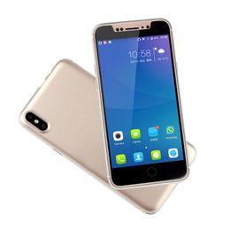 2018 Unlocked Cell Phone 5 pulgadas de pantalla 1GB RAM 8GB ROM Metal Frame Beauty Camera Android Slim Teléfono inteligente barato desde fabricantes