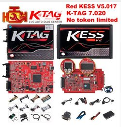 Maestro en línea KESS V2 V5.017 EU Red V2.47 / V2.23 ECM Titanio Sin símbolo KTAG V7.020 Kit de ajuste del administrador OBD2 K-TAG 7.020 V2.23 ECU Programador desde fabricantes