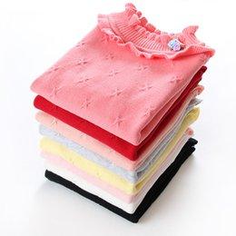 2019 roupas grossistas por atacado para crianças 2017 Novo outono e inverno das meninas blusas de algodão moda crianças clothins crianças camisolas de algodão 2-3years criança