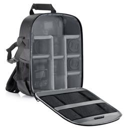 Sac à dos pour lentille en Ligne-Neewer Camera Bag Étanche Antichoc Partition 11x6x14 'Sac à dos de protection pour SLR, DSLR, Mirrorless Camera Lens Battery