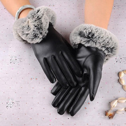 Argentina Super Warm Gloves Cashmere con la función de pantalla táctil Fashion New Winter Women's Guantes Leather Winter supplier women s touch screen gloves Suministro