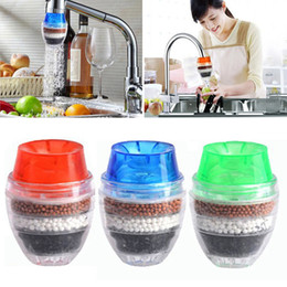 Wholesale Household Air Cleaners - New Household Cleaning Water Filter Mini Kitchen Faucet Air Purifier Water Purifier Water Filter Cartridge Filter Free DHL WX9-248