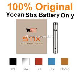 ADEDI = 10 adet 100% Orijinal Otantik Stix Pil 320 mAh Orijinal Başlangıç Kiti Vape Kalem için 100% Orijinal eCigs Atomizer Pil cheap moq battery nereden moq pil tedarikçiler