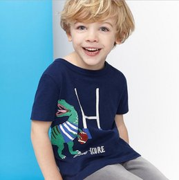 Wholesale Halloween Costumes Blue Men - Blue European style casual t shirt spider t-shirts for boys printed men t shirts for boys toldder 18M-6Years children costumes wholesale lot