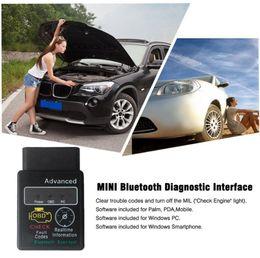 Wholesale Super Mini Elm327 Audi - ELM327 Bluetooth OBD Scan tool Vgate Super OBD Scan mini elm327 Bluetooth OBDII OBD2 Auto Diagnostic intercace V1.5 Version 1.5 GGA71