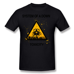 Wholesale brown system - Hot Sell Adult 100% Cotton System Of A Down Soad Logo T-Shirt Adult O Neck Gray Short Sleeve T-Shirts Plus Size Printed On T-Shirt