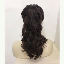 Parrucca kosher europeo online-Parrucca di meraviglia, 100% fascione di sport di capelli vergini europei, parrucca di Pony, capelli di unprocess (parrucca kosher) spedizione gratuita