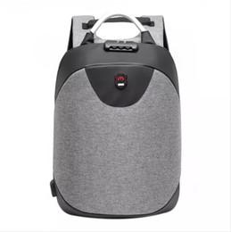 Mochila masculina on-line-15,6 polegadas Laptop mochila homens impermeável Mochila Casual USB Business Travel Back Pack-roubo Anti presente masculino Bag