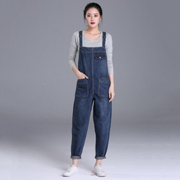 2db12b1f1b5 New Denim Jumpsuits Plus Size 6XL High Quality Women Fashion Overalls  Jumpsuits Casual Washed Stylish Simplicity Out Rompers Be