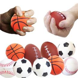 Encantos espinhosos jumbo on-line-Futebol Futebol Squishy Brinquedos Basquete Basquete Voleibol Lento Aumento Jumbo Squeeze Encantos Do Telefone Creme De Pão Stress Reliever Presente