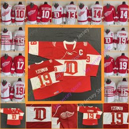 2019 steve yzerman jersey Steve Yzerman Detroit Red Wings Jersey CCM Hockey sobre hielo Alex Delvecchio Pavel Datsyuk Brendan Shanahan Vladimir Konstantinov Brett Hull steve yzerman jersey baratos