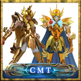 Wholesale myth ex - Instock S-Temple Metal Club EX Pisces Aphrodite Saint Seiya Myth Cloth Gold Action Figure anime figure